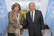 Secretary-General Meets President of Calouste Gulbenkian Foundation