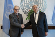 Secretary-General Meets President of International Residual Mechanism for Criminal Tribunals