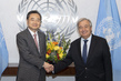 New Permanent Representative of Republic of Korea Presents Credentials