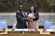 Handover of Presidency in Security Council 9.975513