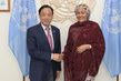 Deputy Secretary-General Meets Director-General of Food and Agriculture Organization 7.251121