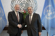 Secretary-General Meets David Rockefeller Jr.