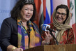 Press Encounter on Formation of Group of Friends of Women in Afghanistan 3.236975