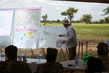 Head of UNMISS Visits Cluster Munition Clearance Site in South Sudan 3.5943823