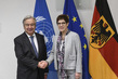 Secretary-General Meets Minister of Defense of Germany 2.285718