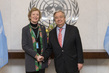 Secretary-General Meets with Mary Robinson 2.858168