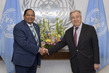 Secretary-General Meets Prime Minister of Guyana