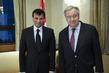 Secretary-General Signs Book of Condolences for Sultan of Oman 1.0