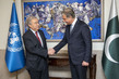 Secretary-General Meets Foreign Minister of Pakistan in Islamabad