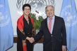 Secretary-General Meets Assistant Secretary-General for Humanitarian Affairs and Deputy Emergency Relief Coordinator