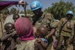 Zambian Peacekeepers Patrol in Central African Republic 4.7985716