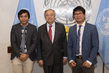 Secretary-General Meets Freed Myanmar Journalists 2.8604693