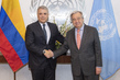 Secretary-General Meets President of Colombia 2.8604693