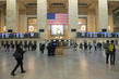 Scene in Grand Central Terminal in New York City during COVID-19 Outbreak 3.5920904