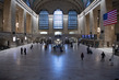 Scene in Grand Central Terminal in New York City during COVID-19 Outbreak 3.5904047