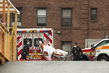 Scene Outside Mount Sinai Hospital in Queens during COVID-19 3.5871732