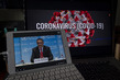 WHO Director-General Holds Virtual Briefing on COVID-19 Pandemic