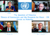 UN Forum on Question of Palestine: Threats of Annexation and Prospects for Peace