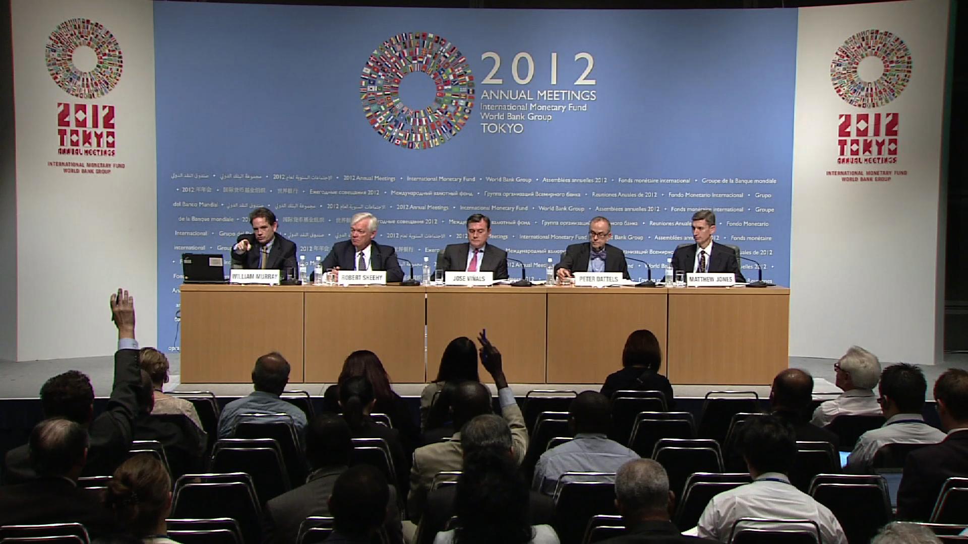 TOKYO  GLOBAL FINANCIAL STABILITY REPORT PRESSER