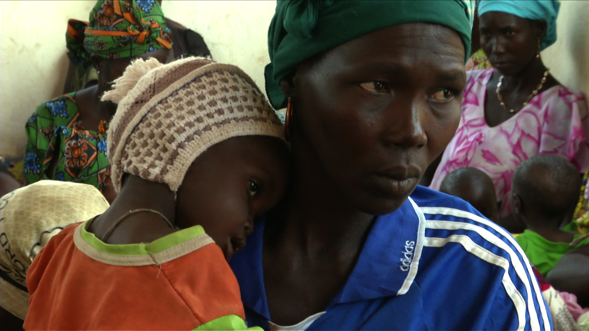 Selected frame from video story CHAD / REFUGEE HEALTH