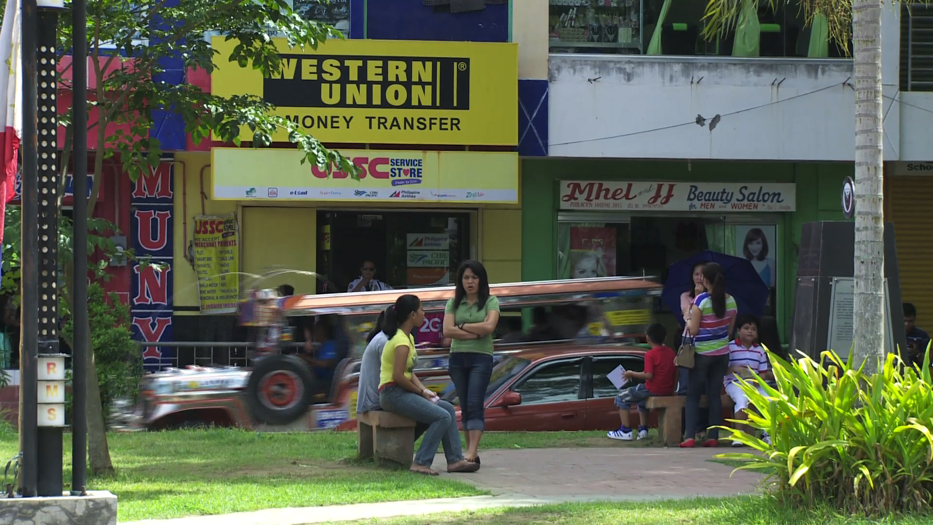 Selected frame from video story IFAD / ASIA-REMITTANCES REPORT ADVANCER