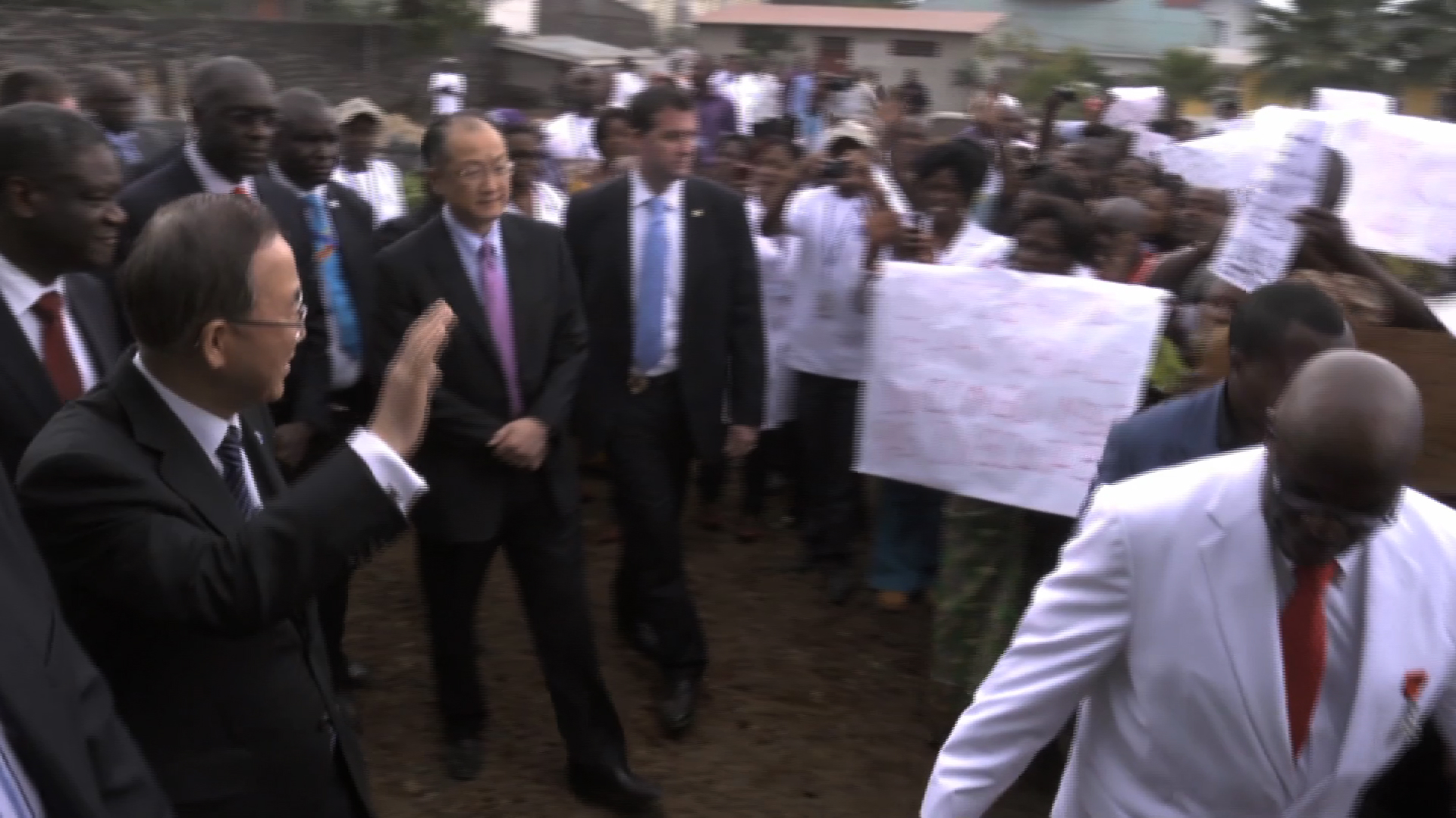Selected frame from video story DRC / GOMA-BAN KI MOON & JIM YON KIM