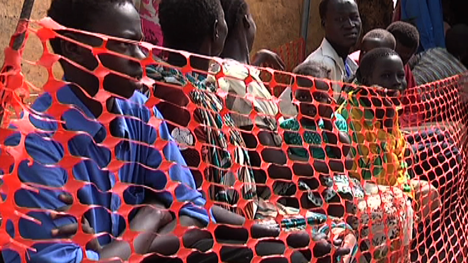 Selected frame from video story SOUTH SUDAN / MENINGITIS OUTBREAK