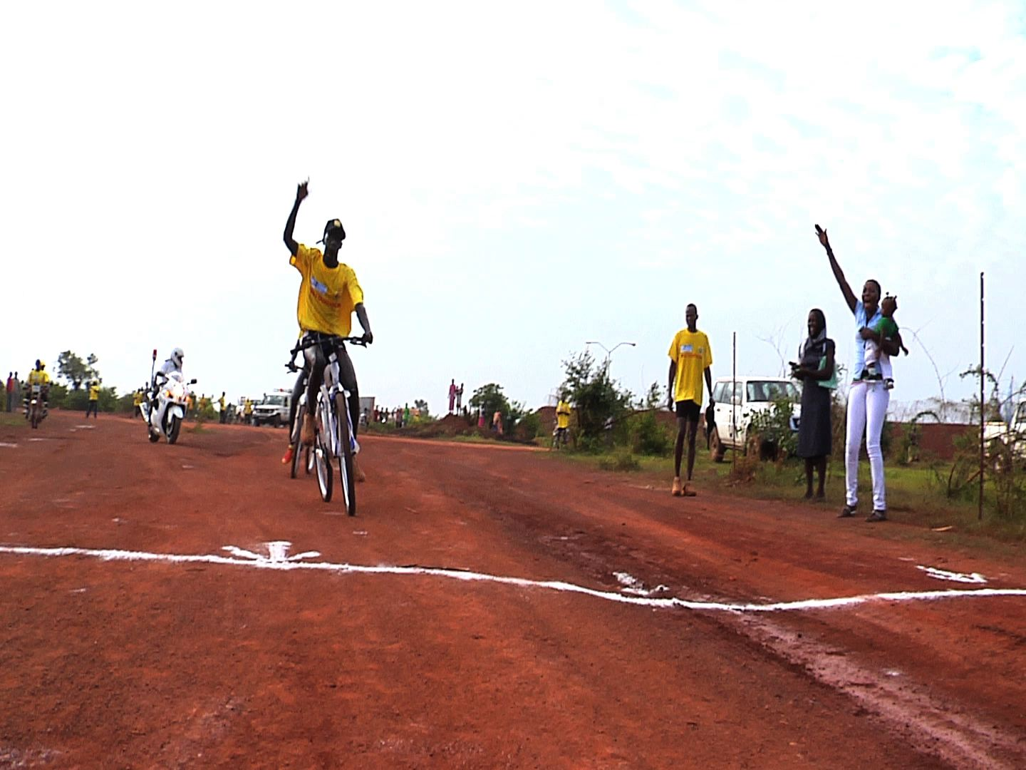 Selected frame from video story SOUTH SUDAN/ UNV MARATHON