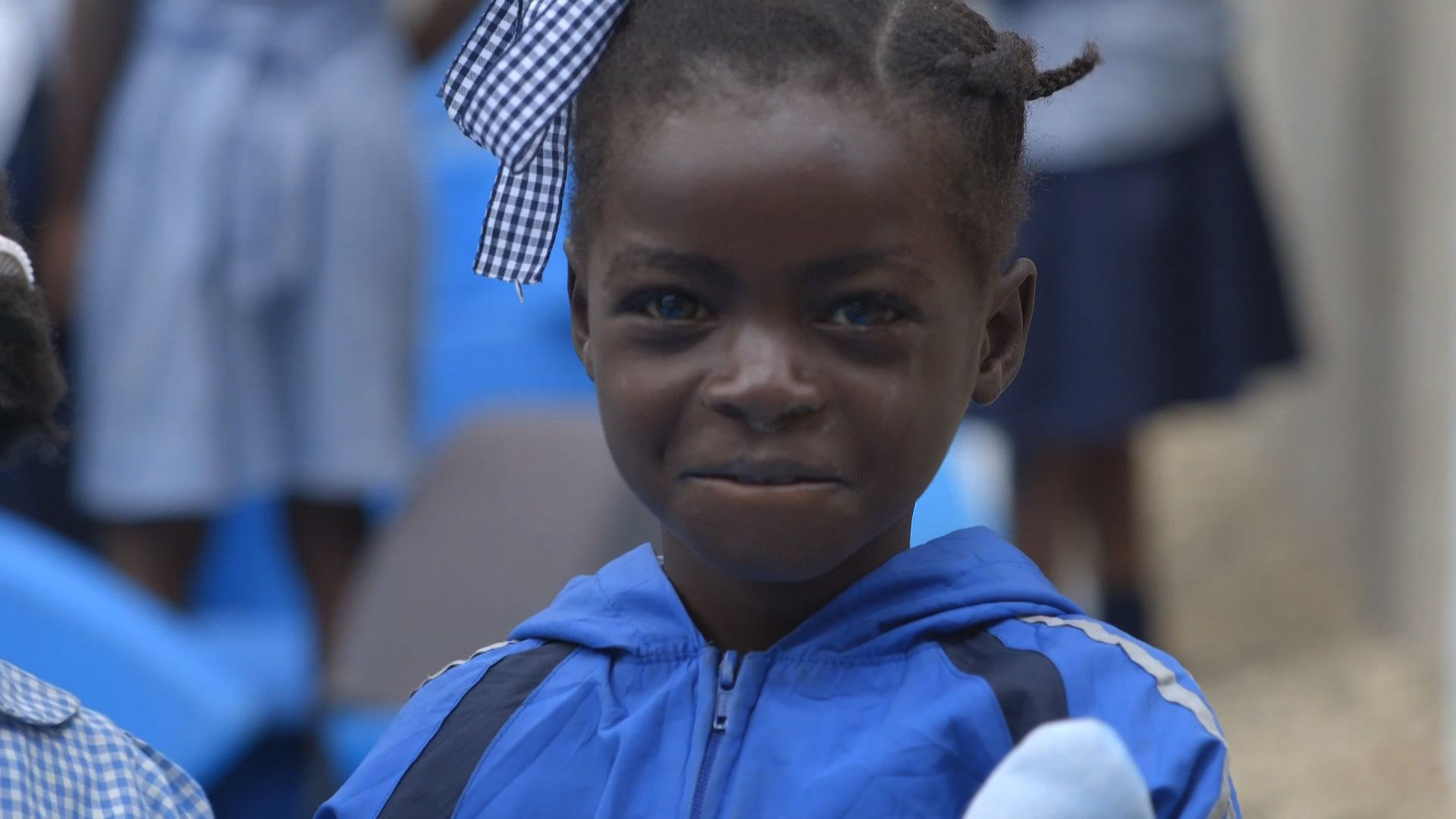 Selected frame from video story HAITI / PLAYGROUNDS