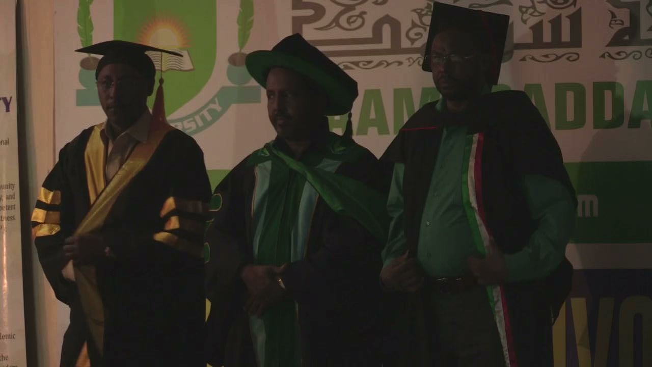 Selected frame from video story SOMALIA / UNIVERSITY GRADUATION