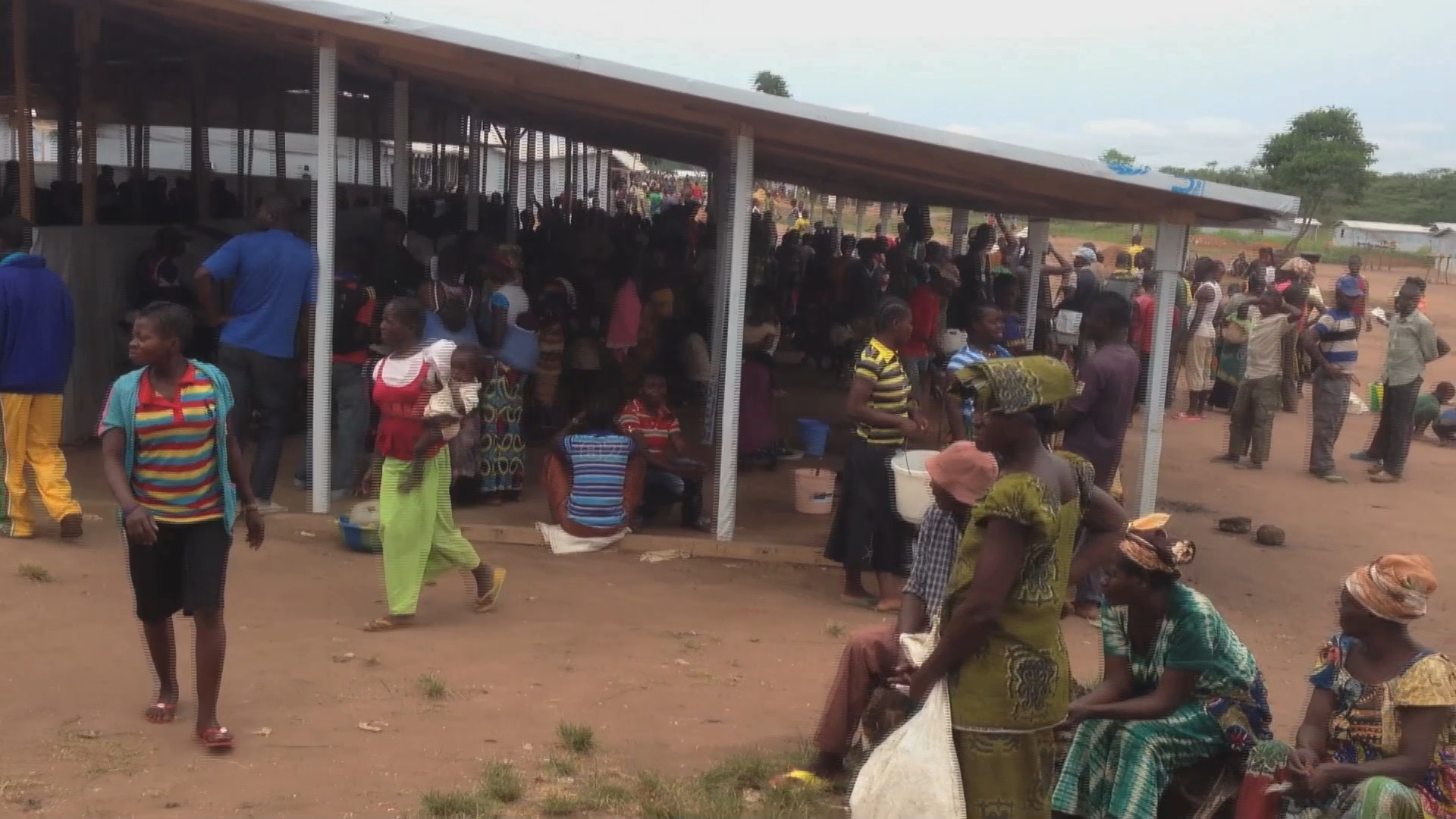 Selected frame from video story CENTRAL AFRICAN REPUBLIC/ MASS EXODUS