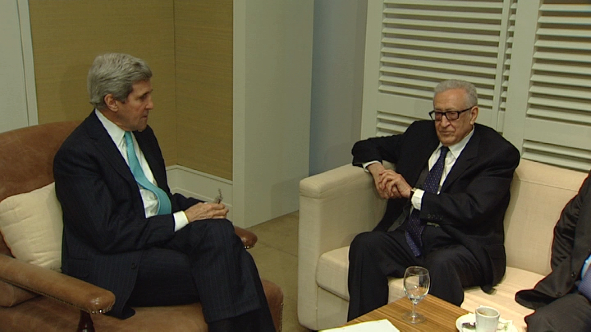 Selected frame from video story GENEVA / BRAHIMI KERRY