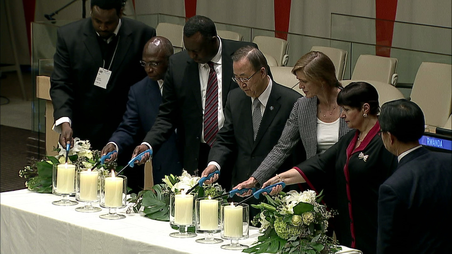Selected frame from video story UN / RWANDA GENOCIDE