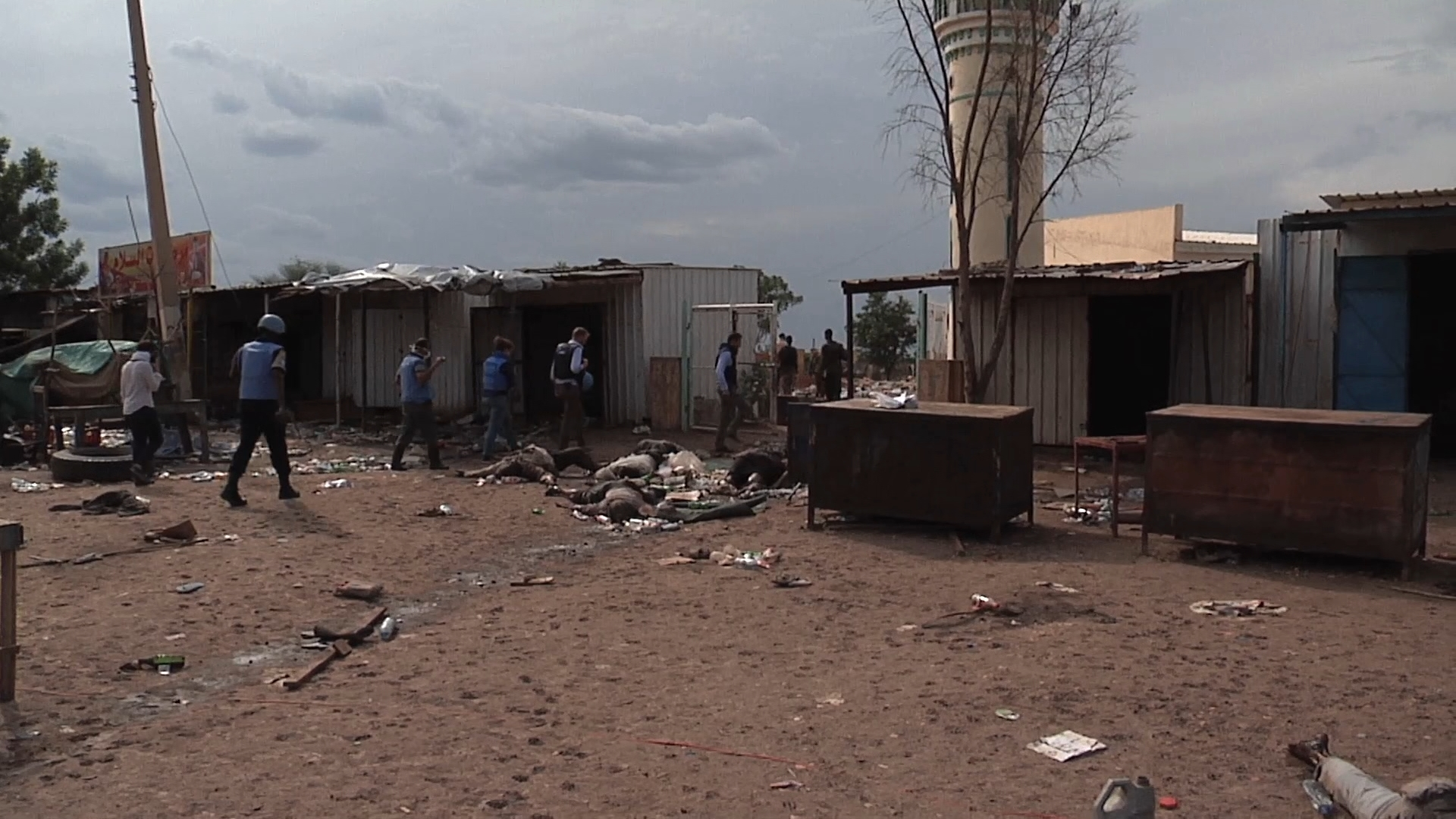 Selected frame from video story SOUTH SUDAN / BENTIU MASSACRE