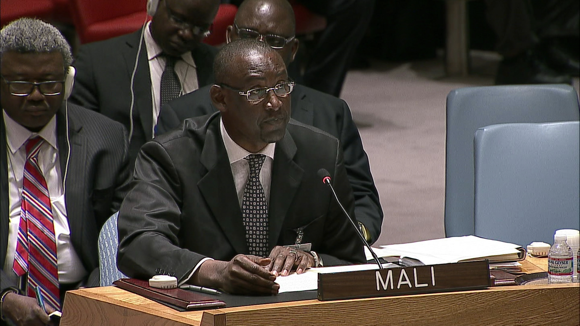 Selected frame from video story UN / MALI