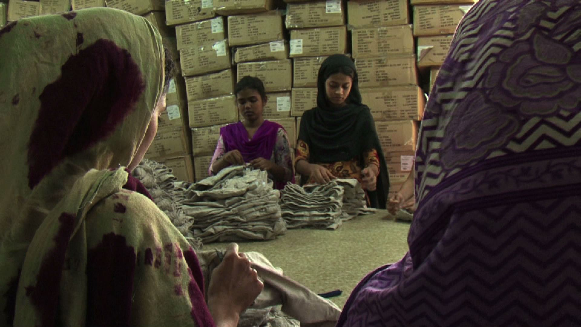 Selected frame from video story BANGLADESH / RANA PLAZA ANNIVERSARY