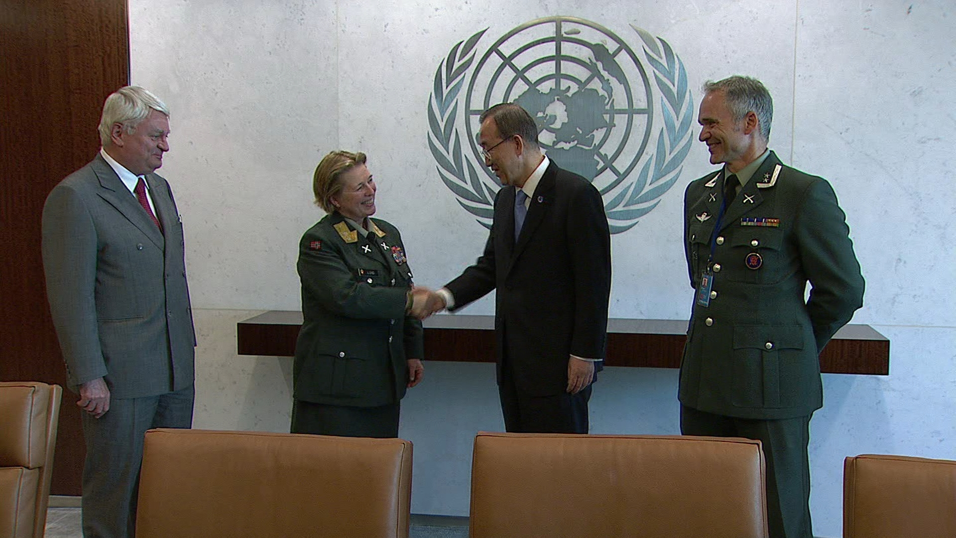 UN  FEMALE FORCE COMMANDER