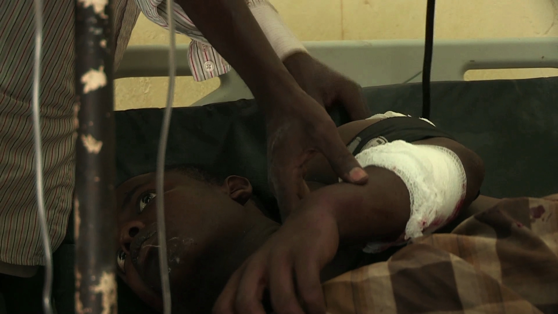 Selected frame from video story SOMALIA / LOWER SHABELLE CLASHES