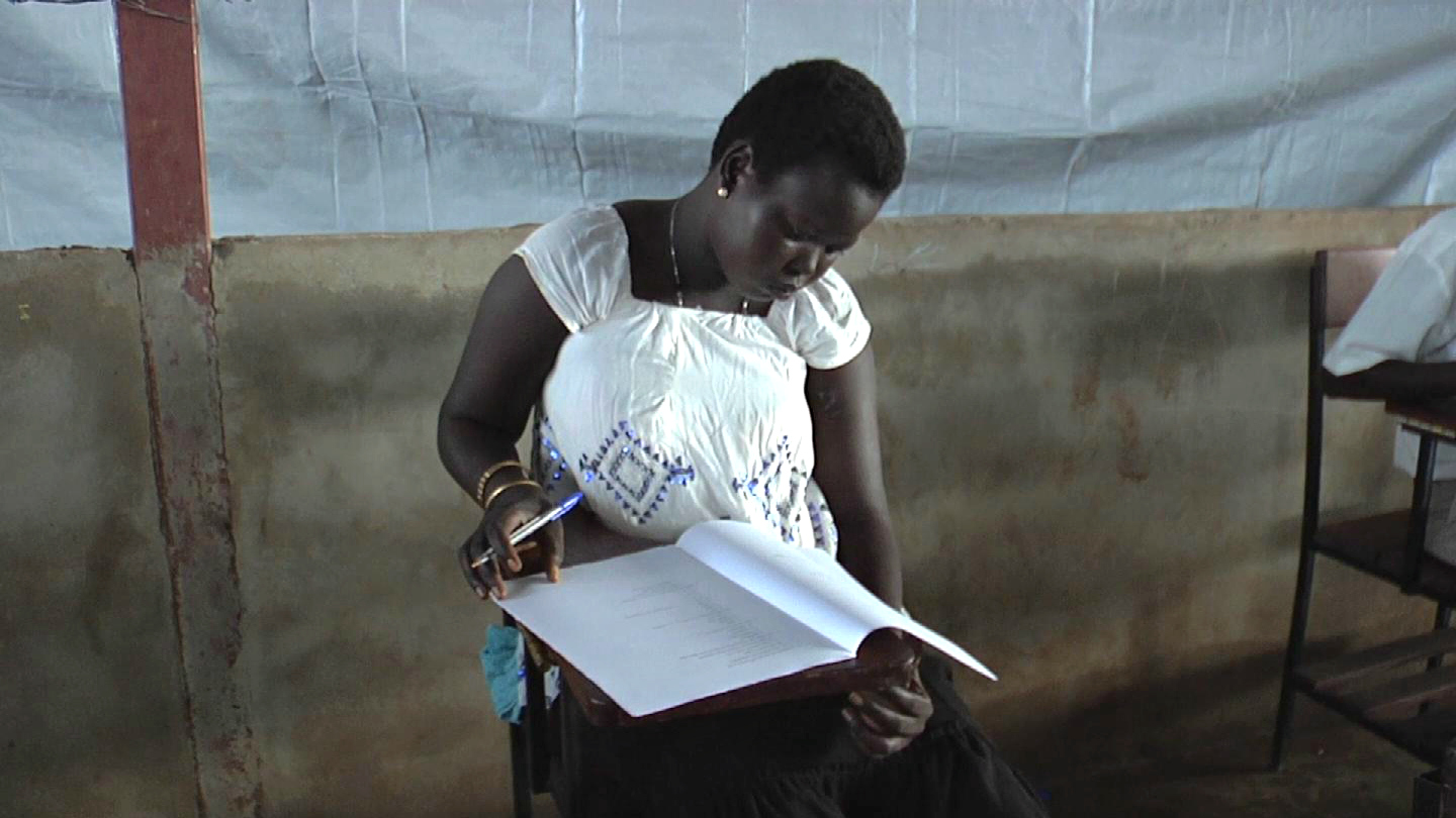 Selected frame from video story SOUTH SUDAN / FINAL EXAMS