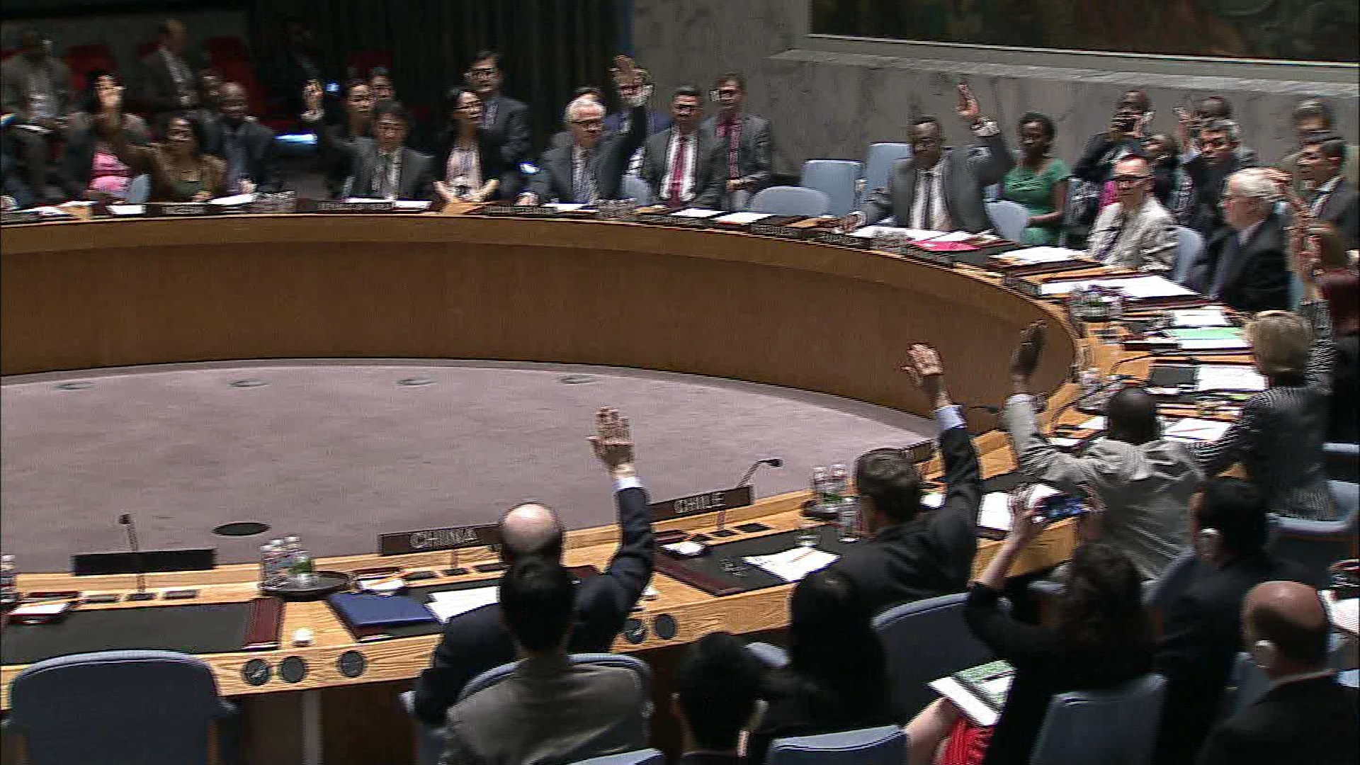 Selected frame from video story UN / UKRAINE VOTE WRAP