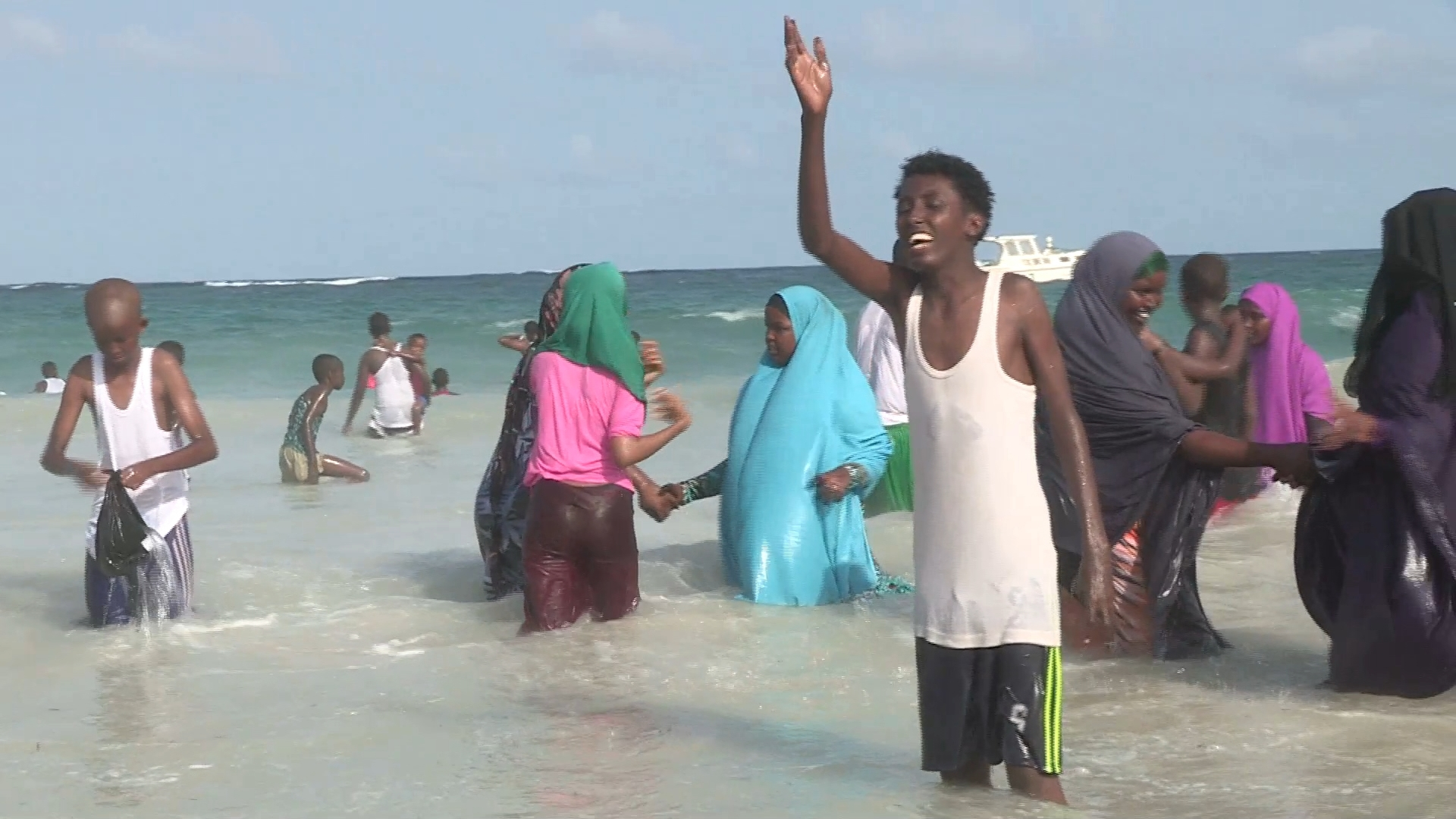 Selected frame from video story SOMALIA / MOGADISHU EID