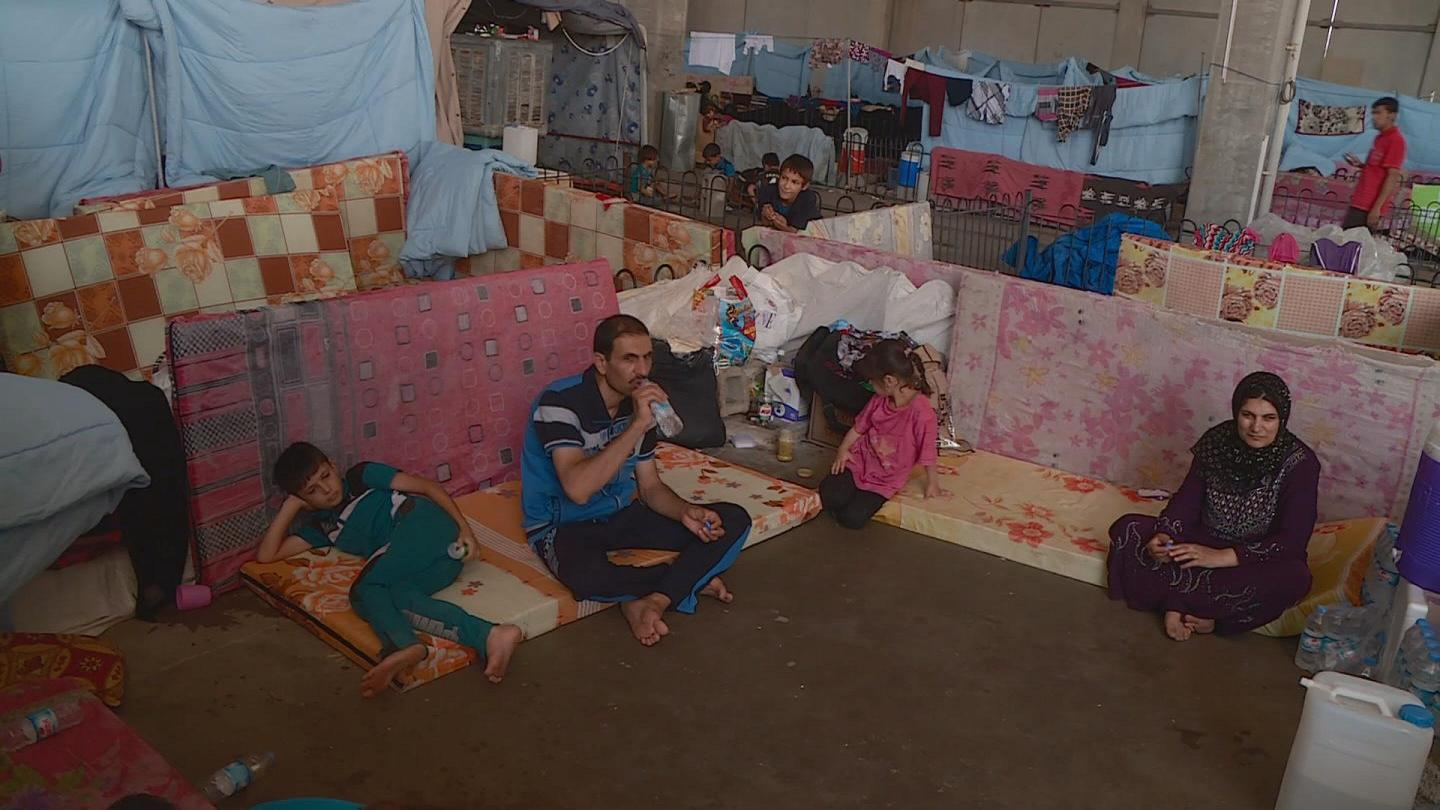 Selected frame from video story IRAQ / DISPLACED POPULATION
