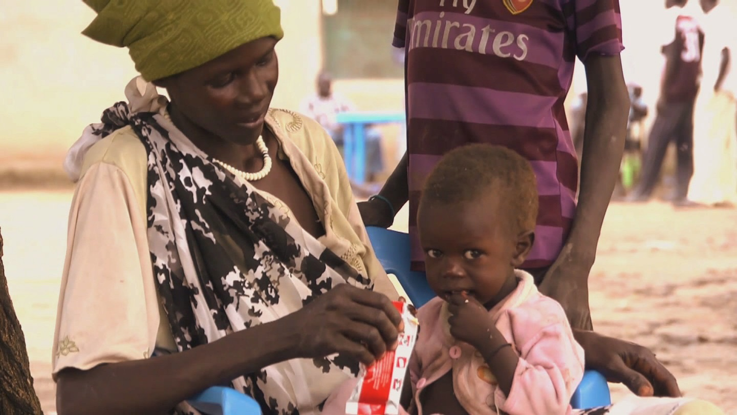 Selected frame from video story SOUTH SUDAN / MALNUTRITION
