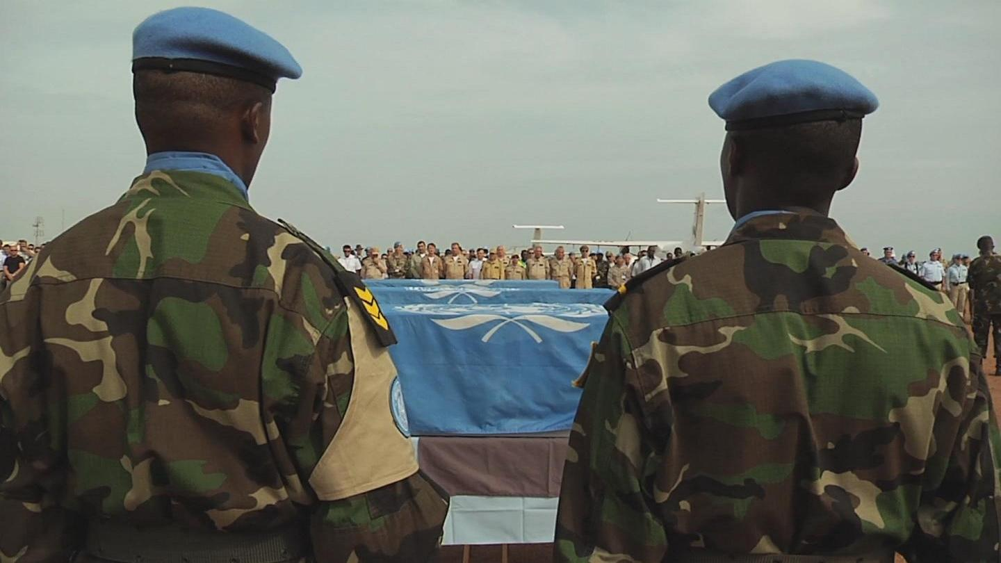Selected frame from video story SOUTH SUDAN / MEMORIAL