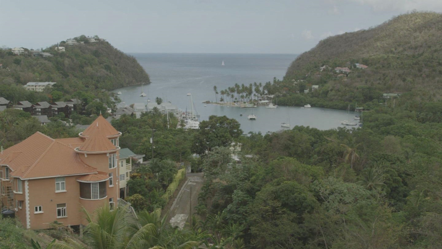 Selected frame from video story ST LUCIA / SEA WATER SEWAGE