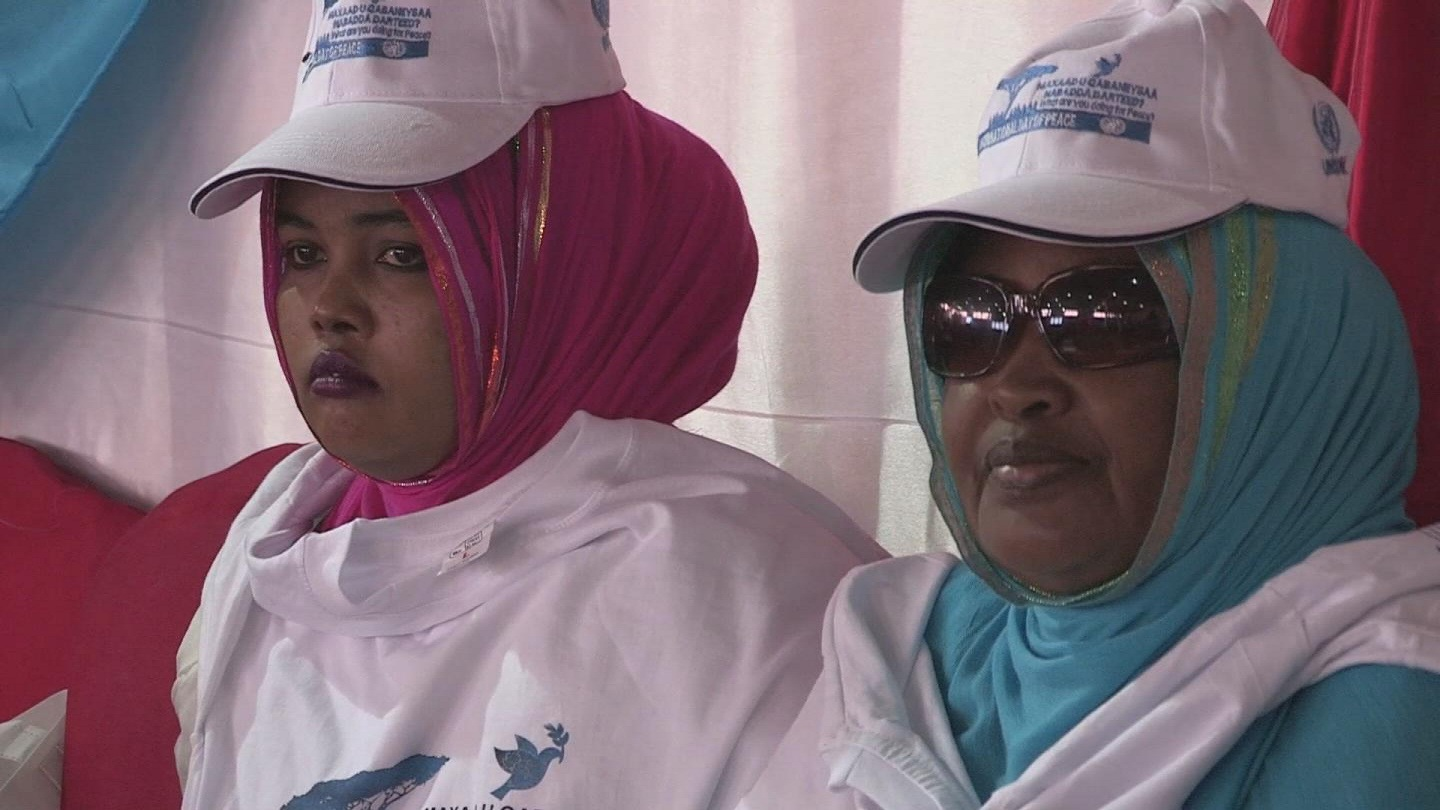 Selected frame from video story SOMALIA / DISABLED PEACE