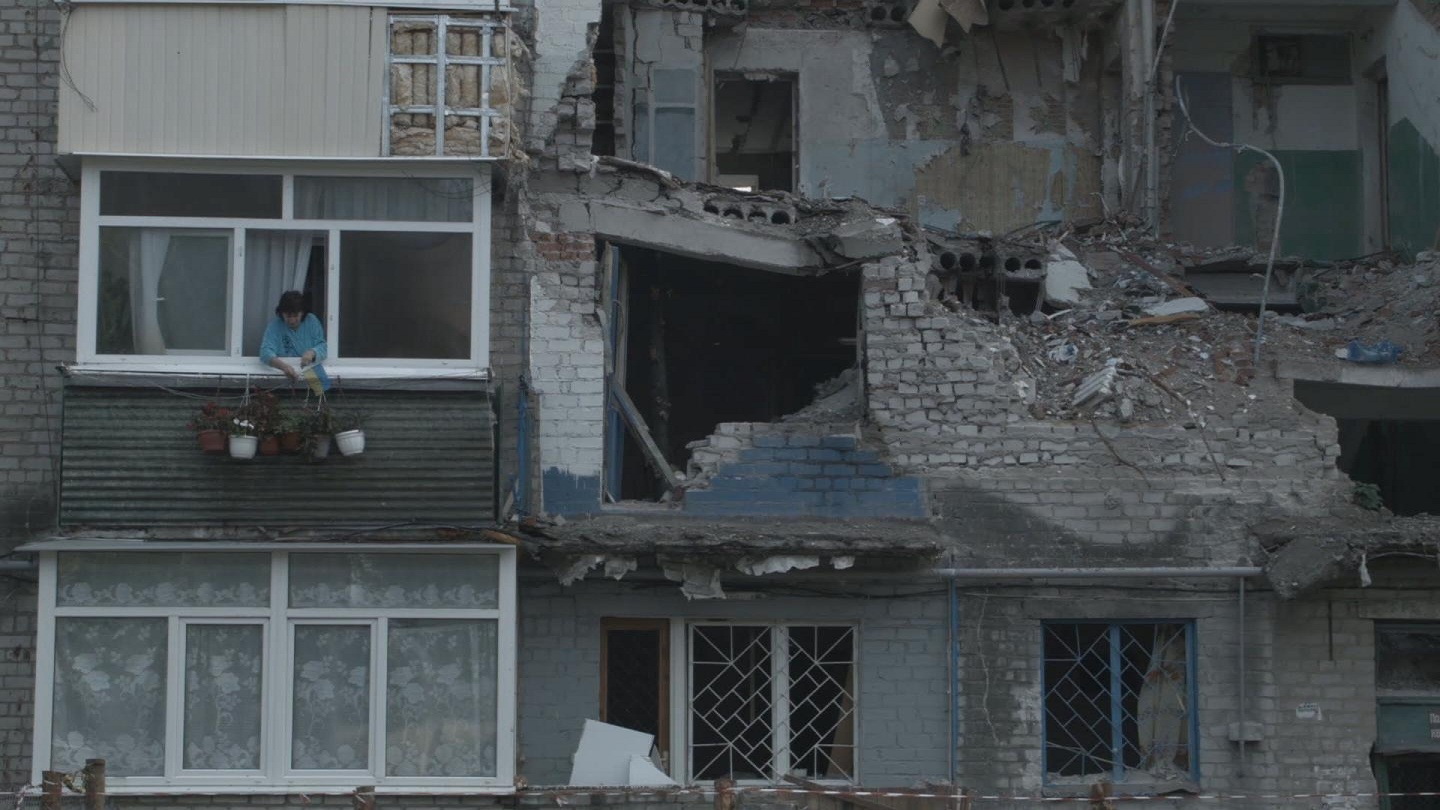 Selected frame from video story UKRAINE / DISPLACED
