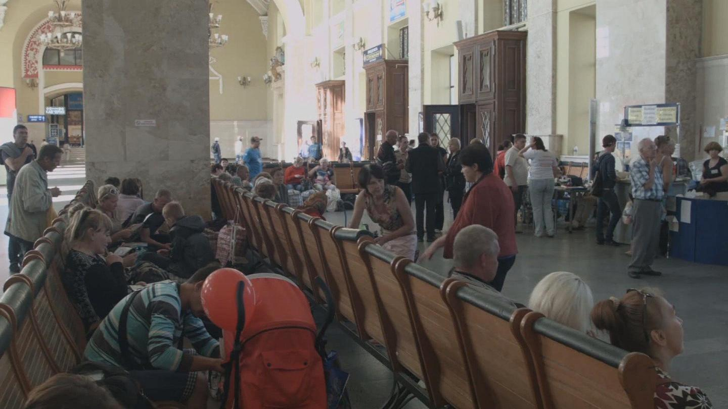 Selected frame from video story UKRAINE / KHARKIV DISPLACED