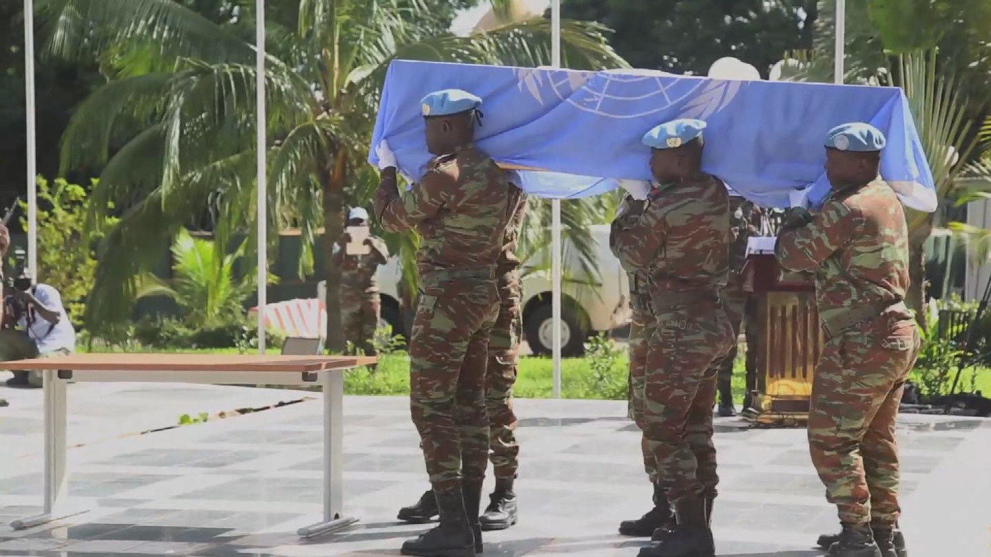 Selected frame from video story MALI / CHADIAN PEACEKEEPER