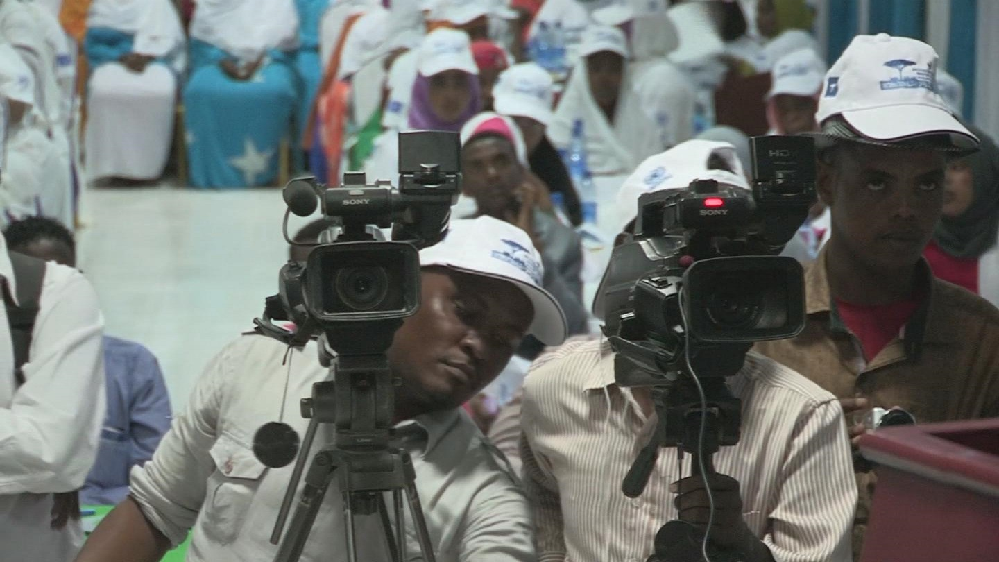 Selected frame from video story SOMALIA / JOURNALISTS FOR PEACE